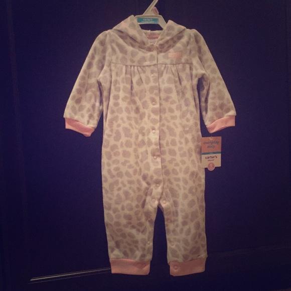 a86b9a22fd8d Carter s Hooded Fleece Jumpsuit